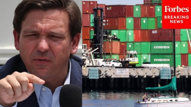'They're Just Sitting There': DeSantis Slams Shipping Problems Contributing To Supply Chain Crisis