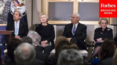 Colin Powell Joins Other Former Secretaries Of State To Celebrate Diplomacy Center Pavilion In 2017