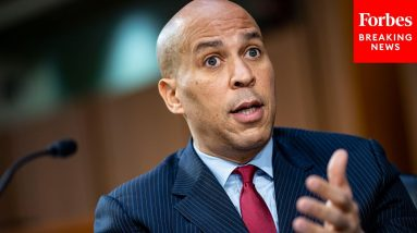 'It Is A Moment Of Redemption': Booker Urges Passage Of Bill To Stop 'War On Drugs' Provision